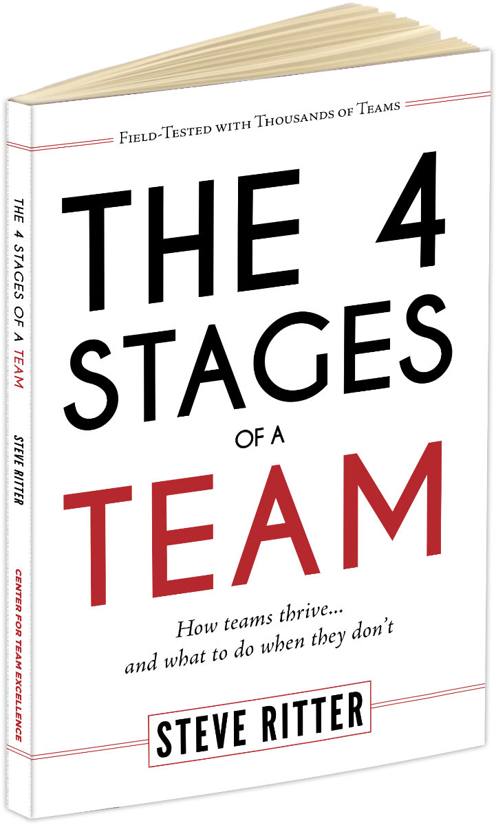 Photo of The 4 Stages of a Team book
