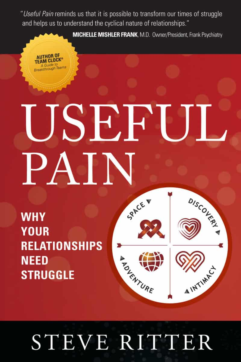 Book cover for Steve Ritter's Useful Pain book