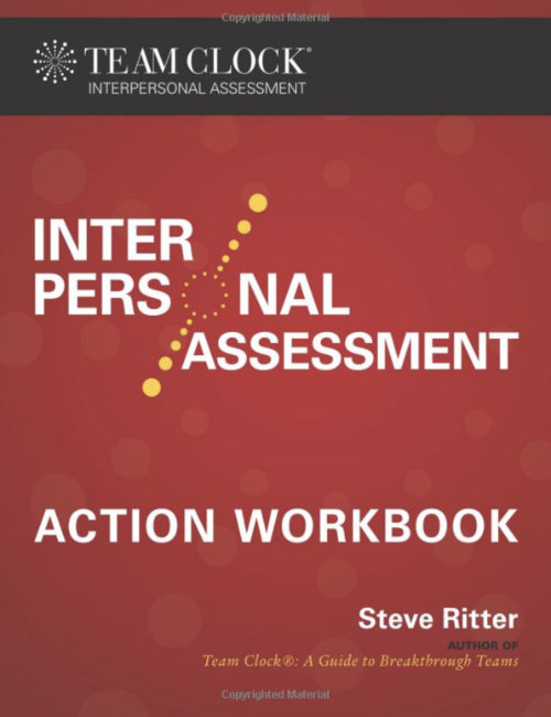 Photo of the Team Clock Interpersonal Assessment Action Workbook book cover